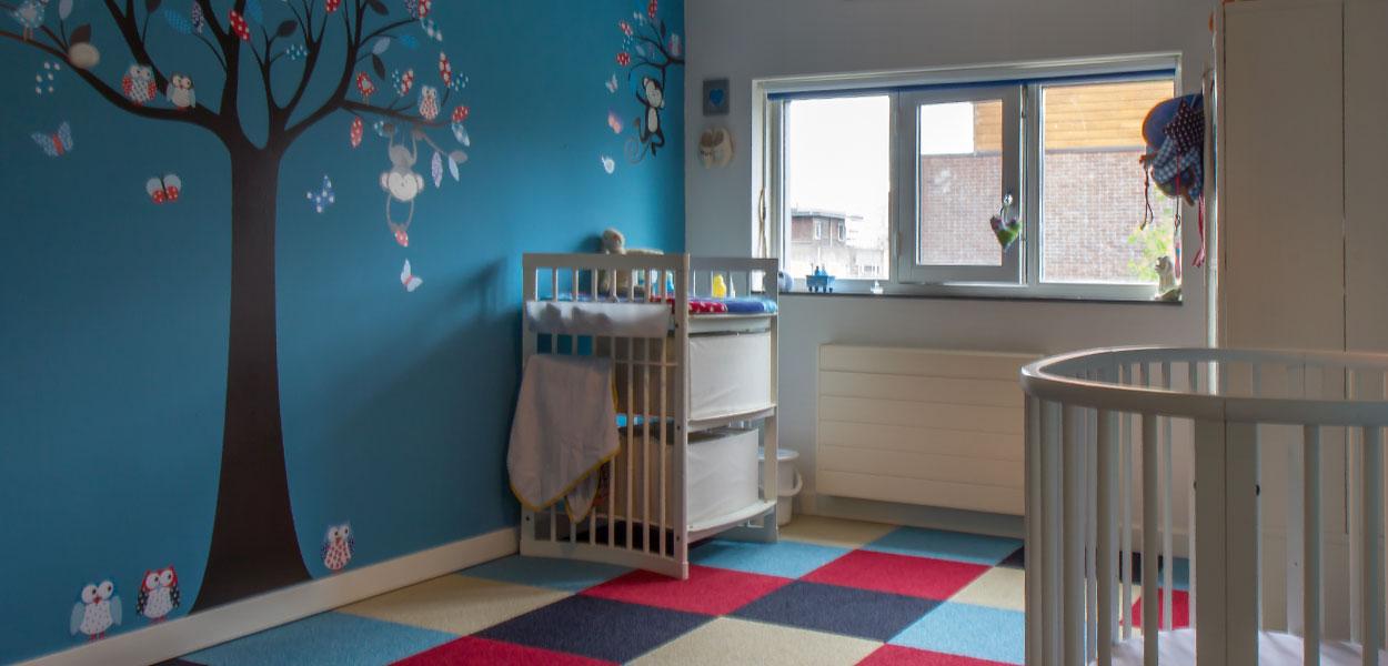 Slaapkamer Kleuren Blauw  Meer dan idee u00ebn over groene slaapkamer verf op