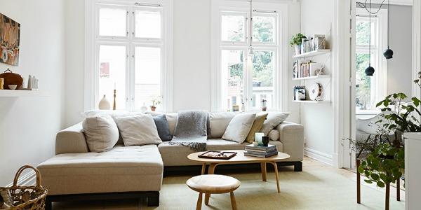Hoe richt je een klein huis effectief en leuk in?