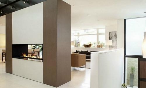 Hoe richt je een klein huis effectief en leuk in - Scheiding kamer panel ...