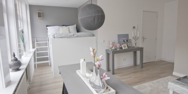 Kleine Slaapkamer Inrichten Ideeen : Hulp bij studio inrichten? 4 ...