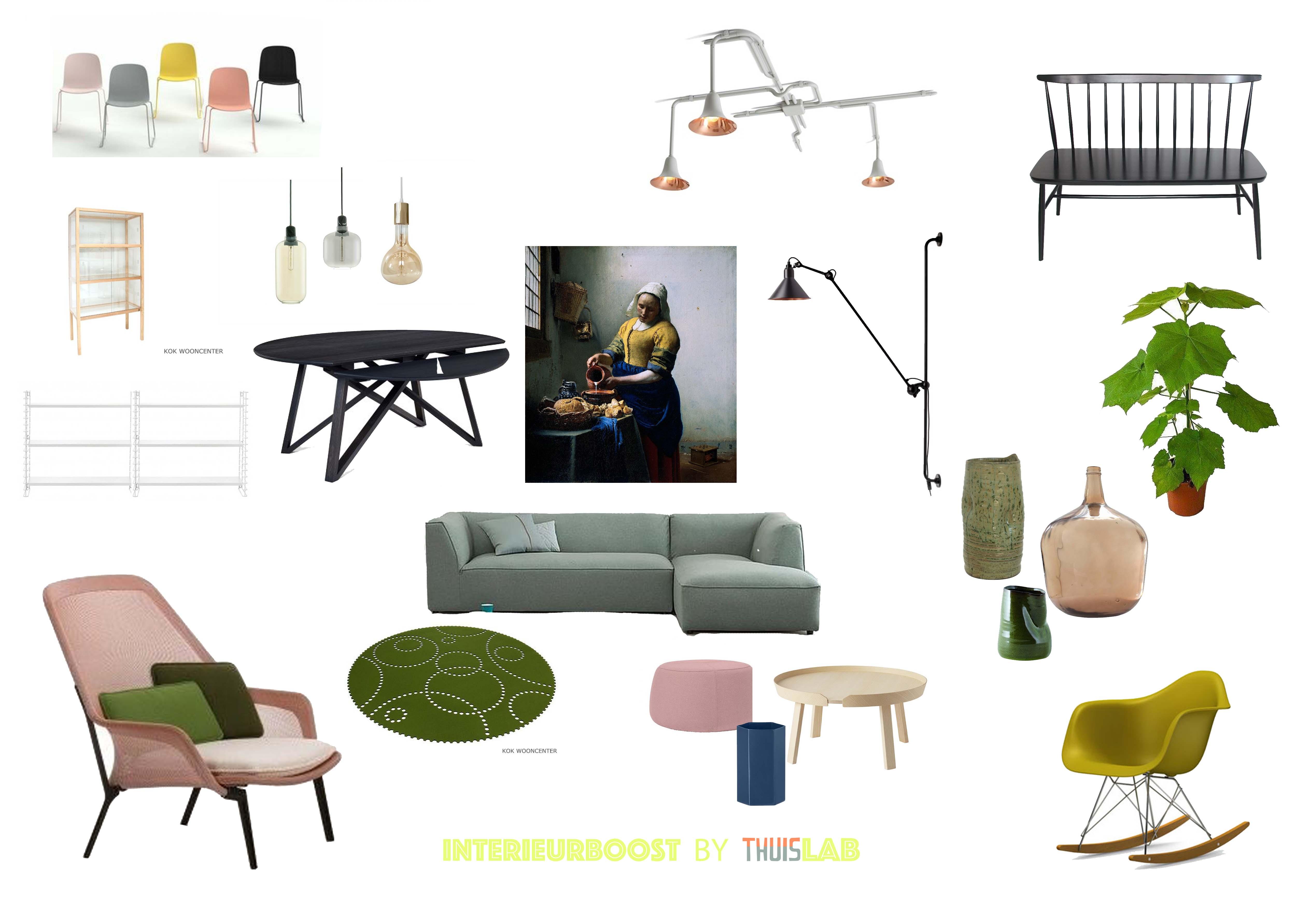 meubeloverzicht by TOET wonen en ThuisLAB www.toetwonen.nl