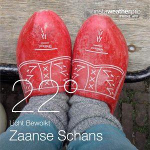 3 jaar geleden.....op klompen bij de Zaanse Schans