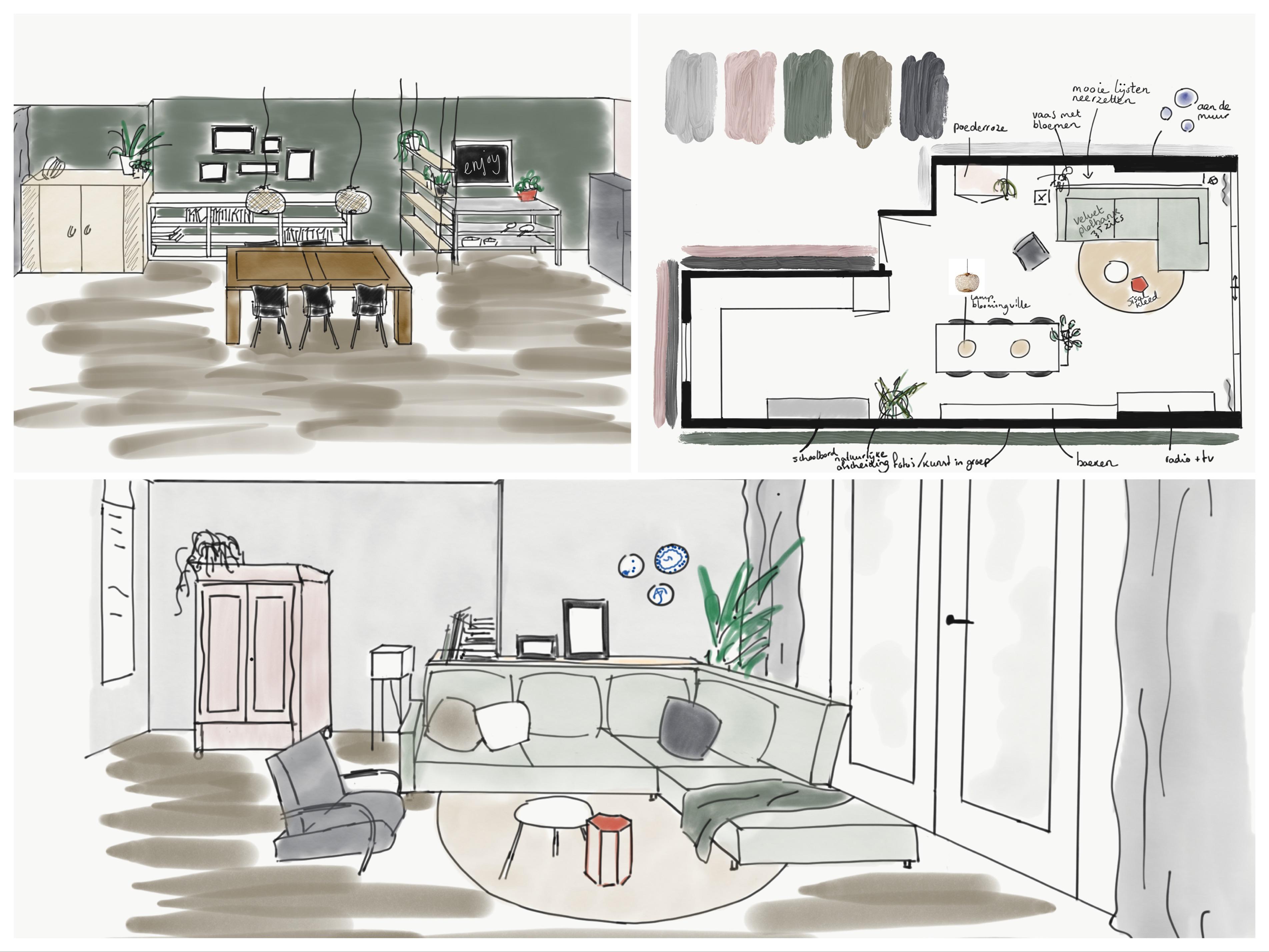 totaalontwerp TOET wonen - interieurstudio